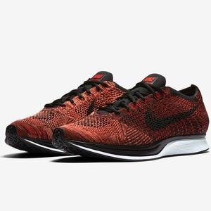 """Nike Flyknit Racer """"University Red and Black"""""""